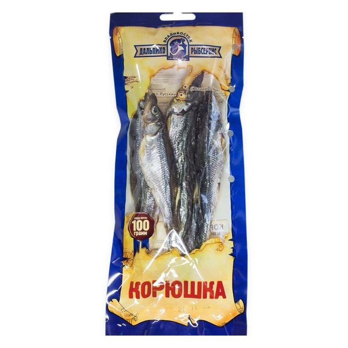 Корюшка солёно-сушеная «Дальпико», 100 г
