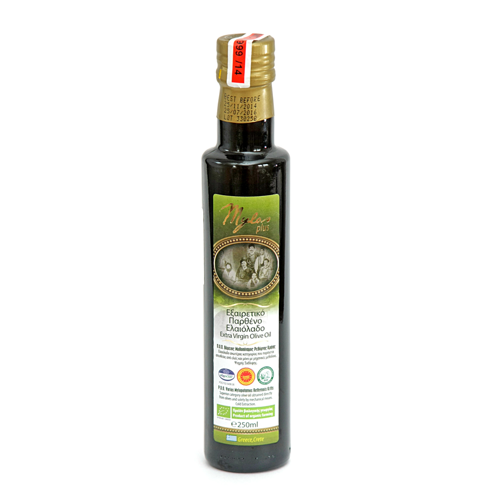 Оливковое масло Mylos Plus Organic