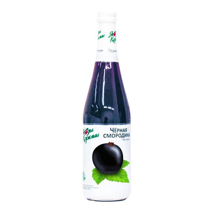 Нектар из чёрной смородины «Ягоды карелии», 510 мл