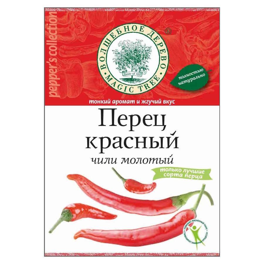 Перец красный молотый (жгучий чили), 50 г