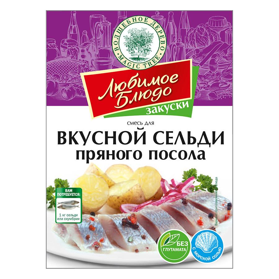 Вкусная сельдь пряного посола, 100 г